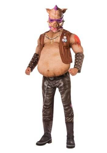 Click Here to buy TMNT 2 Adult Deluxe Bebop Costume from HalloweenCostumes, CDN Funds & Shipping