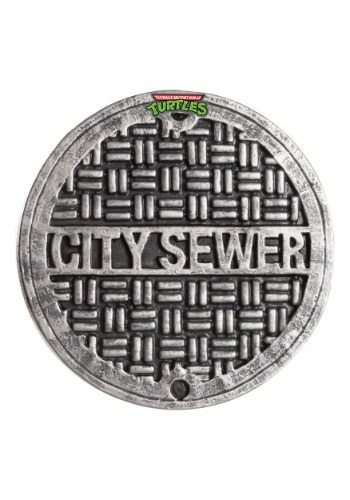 Click Here to buy Adult TMNT Sewer Cover Shield from HalloweenCostumes, CDN Funds & Shipping