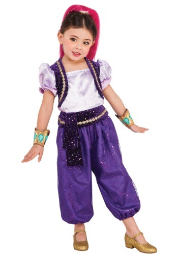 Click Here to buy Girls Deluxe Shimmer Costume from HalloweenCostumes, CDN Funds & Shipping
