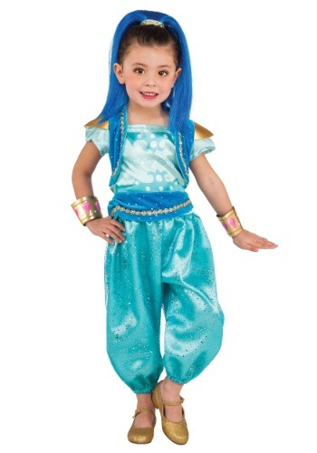 Girls Deluxe Shine Costume