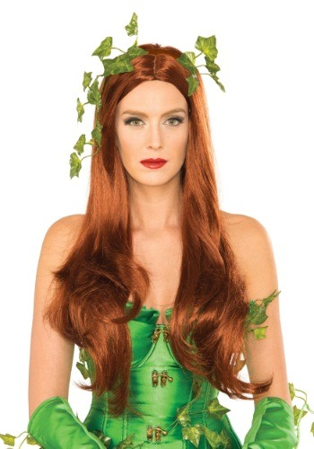 Click Here to buy Womens Deluxe Poison Ivy Wig from HalloweenCostumes, CDN Funds & Shipping