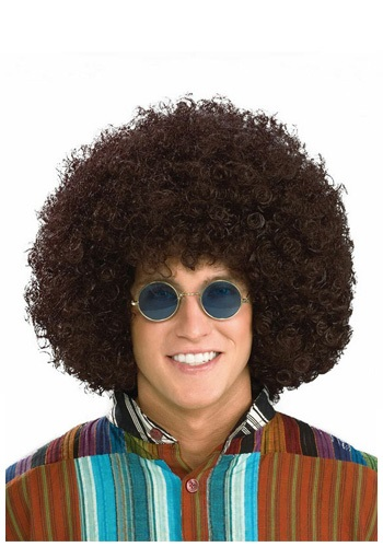 Click Here to buy Hippie Afro Wig from HalloweenCostumes, CDN Funds & Shipping