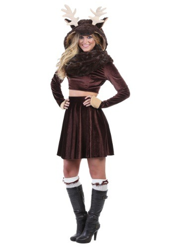 Click Here to buy Moose Womens Costume from HalloweenCostumes, CDN Funds & Shipping