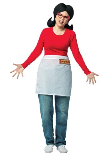 Click Here to buy Adult Bobs Burgers Linda Costume from HalloweenCostumes, CDN Funds & Shipping