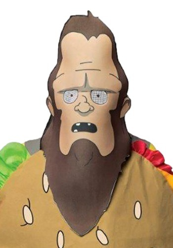 Adult Bobs Burgers Beefsquatch Mask