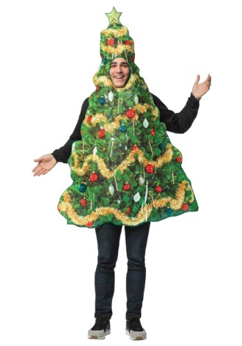 Click Here to buy Get Real Christmas Tree Adult Costume from HalloweenCostumes, CDN Funds & Shipping