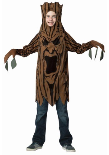 Click Here to buy Scary Tree Kids Costume from HalloweenCostumes, CDN Funds & Shipping