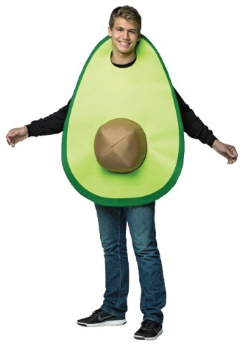Click Here to buy Avocado Adult Costume from HalloweenCostumes, CDN Funds & Shipping