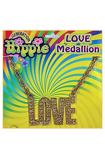 Click Here to buy Gold Love Necklace from HalloweenCostumes, CDN Funds & Shipping