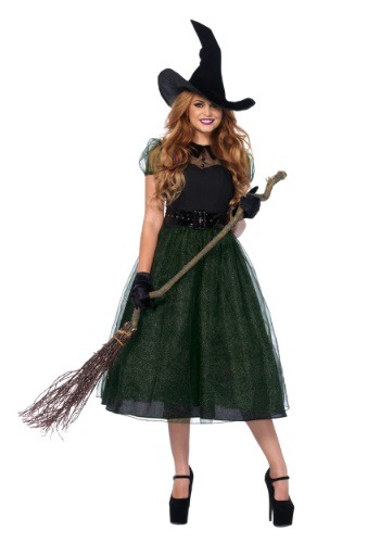 Click Here to buy Darling Spellcaster Witch Costume from HalloweenCostumes, CDN Funds & Shipping