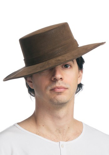Click Here to buy Faux Leather Spanish Hat from HalloweenCostumes, CDN Funds & Shipping