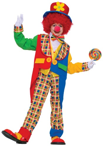 Click Here to buy Kidsrens Clown Costume from HalloweenCostumes, CDN Funds & Shipping