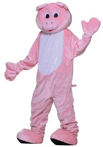 Click Here to buy Deluxe Pig Mascot Costume from HalloweenCostumes, CDN Funds & Shipping