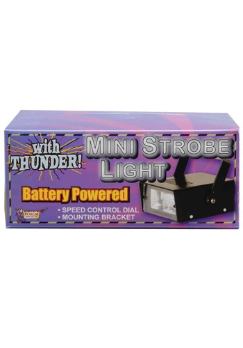 Mini LED Strobe Light with Thunder