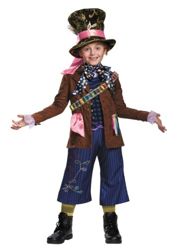 Click Here to buy Mad Hatter Prestige Kids Costume from HalloweenCostumes, CDN Funds & Shipping