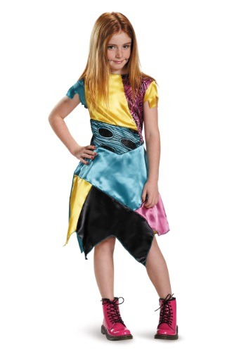 Click Here to buy Girls Sally Costume from HalloweenCostumes, CDN Funds & Shipping