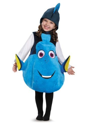 Click Here to buy Kids Deluxe Dory Costume from HalloweenCostumes, CDN Funds & Shipping