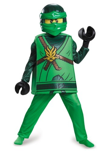 Click Here to buy Deluxe Ninjago Lloyd Boys Costume from HalloweenCostumes, CDN Funds