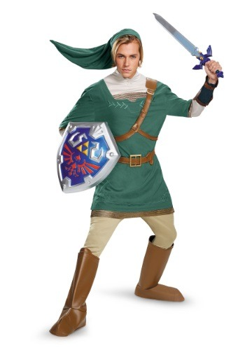 Click Here to buy Adult Link Prestige Costume from HalloweenCostumes, CDN Funds & Shipping