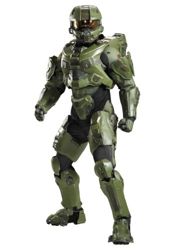 Click Here to buy Master Chief Ultra Prestige Adult Costume | Halo Costumes from HalloweenCostumes, CDN Funds & Shipping