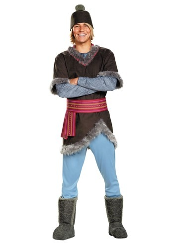 Click Here to buy Frozen Kristoff Deluxe Adult Costume from HalloweenCostumes, CDN Funds & Shipping
