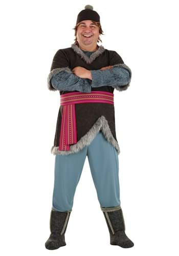 Click Here to buy Frozen Kristoff Plus Size Deluxe Adult Costume from HalloweenCostumes, CDN Funds & Shipping