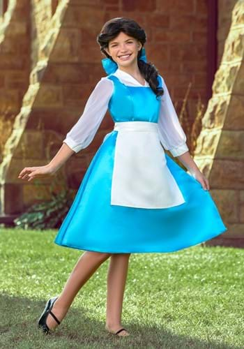 Tween Belle Blue Costume Dress