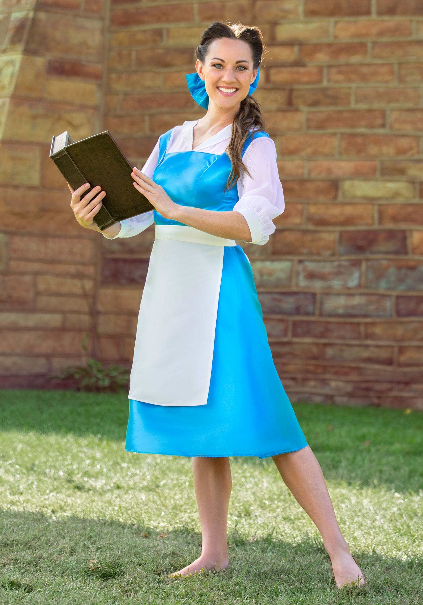 Adult Belle Blue Dress  sc 1 st  Halloween Costumes CA & Beauty and the Beast Costumes