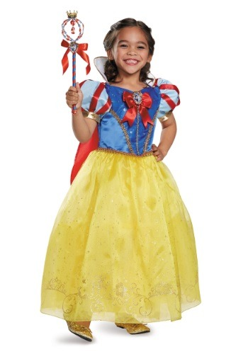 Click Here to buy Kids Snow White Prestige Costume from HalloweenCostumes, CDN Funds & Shipping