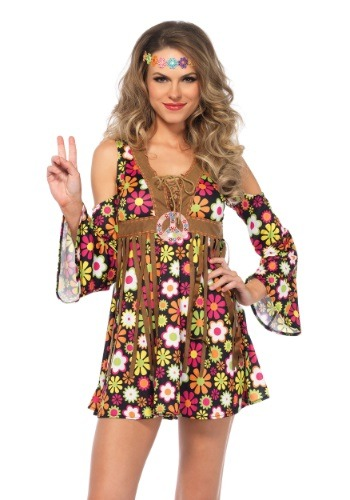Womens Starflower Hippie Costume