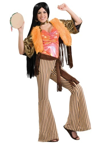 Click Here to buy Womens 60s Singer Costume from HalloweenCostumes, CDN Funds & Shipping