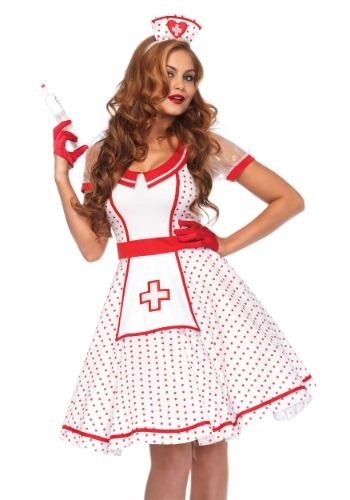 Womens Bedside Betty Costume