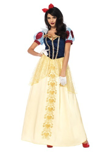 Click Here to buy Womens Deluxe Snow White Costume from HalloweenCostumes, CDN Funds & Shipping