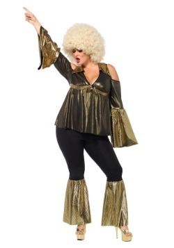 Plus Size Disco Diva Costume