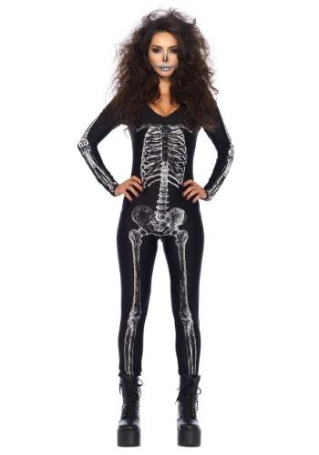 Women's X-Ray Skeleton Catsuit