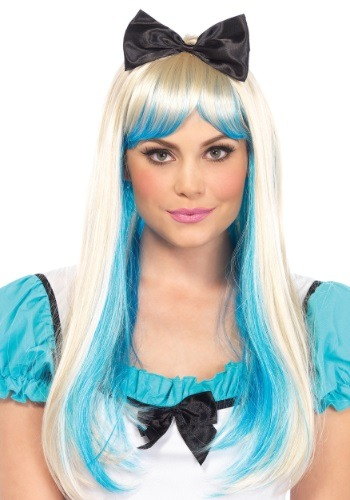 Click Here to buy Alice Two Toned Wig from HalloweenCostumes, CDN Funds & Shipping