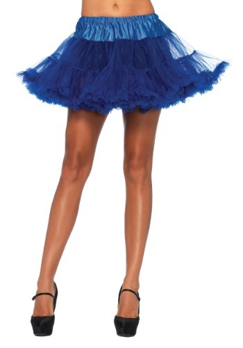 Royal Blue Tulle Petticoat