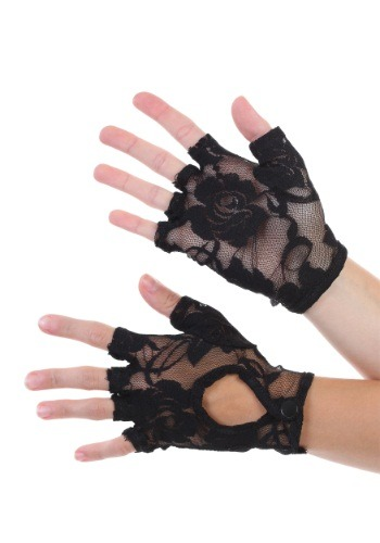 Fingerless Lace Gloves for Women