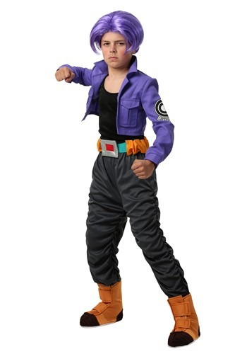 Click Here to buy Dragon Ball Z Trunks Kids Costume from HalloweenCostumes, CDN Funds & Shipping