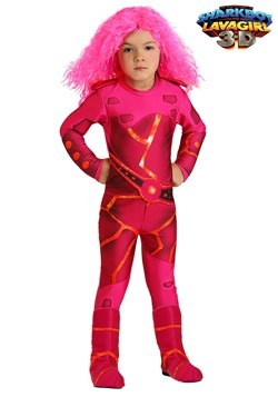 Lavagirl Toddler Costume