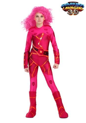 Lavagirl Girls Costume