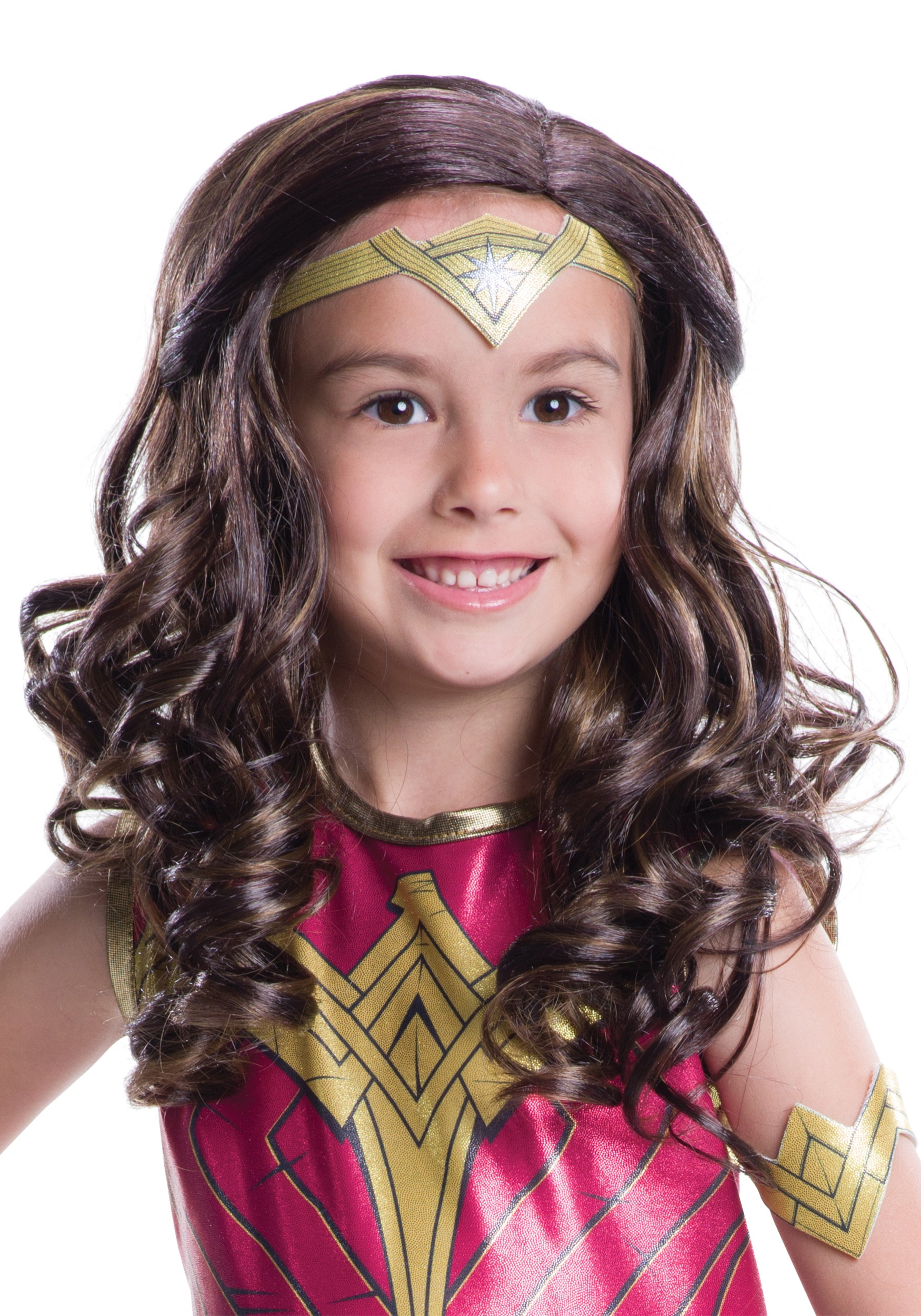 Dawn Of Justice Child Wonder Woman Wig-2978