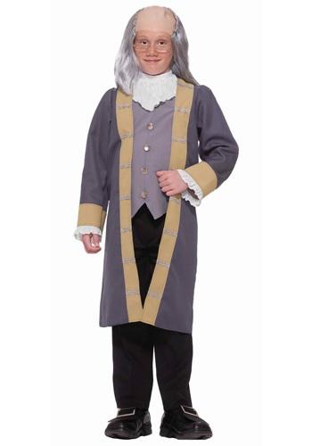 Child Benjamin Franklin Costume