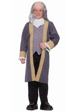 Child Benjamin Franklin Costume