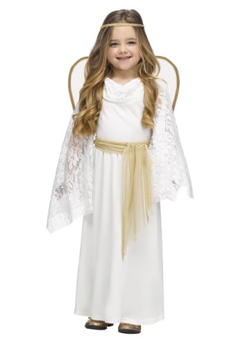 Click Here to buy Toddler Angelic Miss Costume from HalloweenCostumes, CDN Funds & Shipping