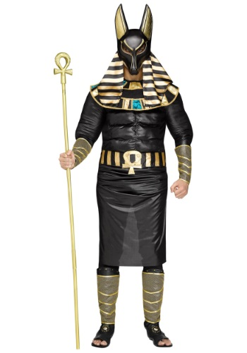 Anubis Plus Size Costume for Men
