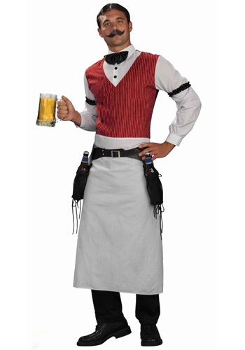 Click Here to buy Saloon Bartender Costume from HalloweenCostumes, CDN Funds