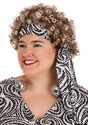 Plus Size Women's Foxy Lady Disco Costume Alt 1