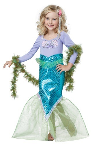 Click Here to buy Toddler Magical Mermaid Costume from HalloweenCostumes, CDN Funds & Shipping