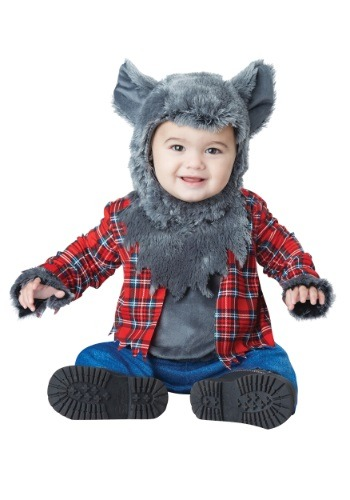 Click Here to buy Wittle Werewolf Baby Costume from HalloweenCostumes, CDN Funds & Shipping
